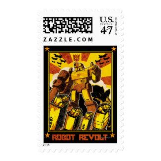 Robot Revolt Postage