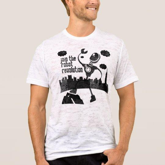Robot Revolution Black T-Shirt