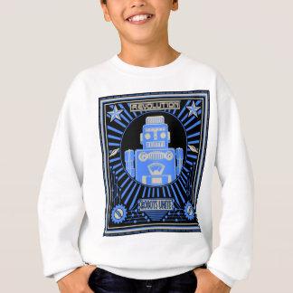 Robot Revolution Blue Sweatshirt