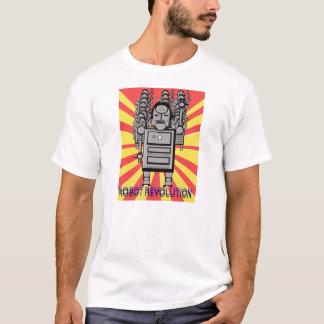 Robot Revolution Poster T-Shirt