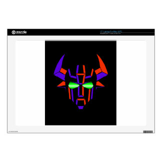 ROBOT RODEO Black Style Laptop Decals