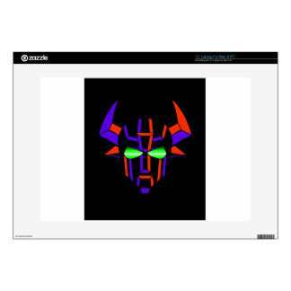 ROBOT RODEO Black Style Skin For Laptop