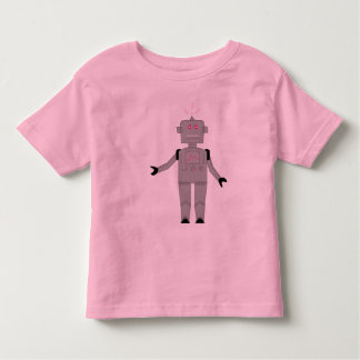 robot rosado playeras