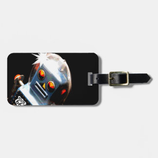 Robot Route 66 Tags For Luggage