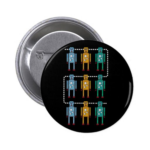 Robot Row Assimilated Button