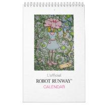 Robot Runway® Calendar