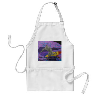 Robot Rusty McBolt's Surfin' Vacation Adult Apron