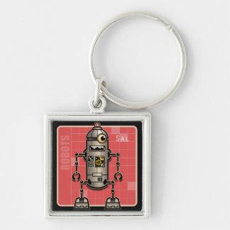Robot Sal keychain