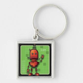 Robot Sam Keychain