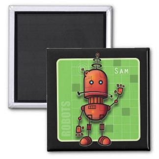 Robot Sam magnet