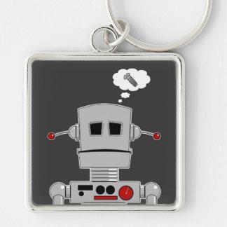 Robot Screw Keychain