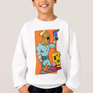 Robot sidekick sweatshirt