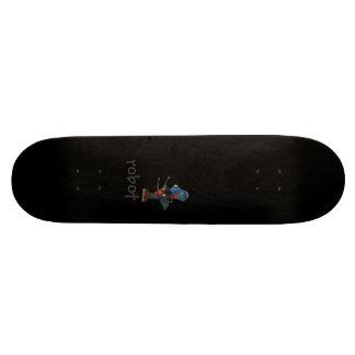 Robot Skateboard Deck