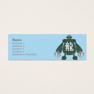 Robot - Skinny Mini Business Card