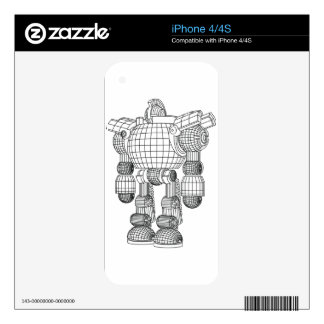 robot skins for iPhone 4S