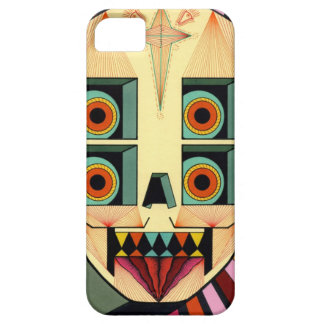 robot skull iPhone 5 cover