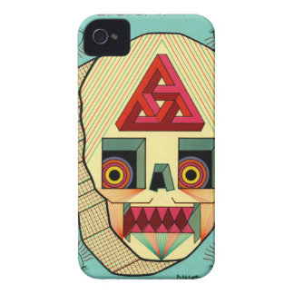 robot skull iPhone 4 Case-Mate cases
