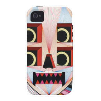 robot skull vibe iPhone 4 cover