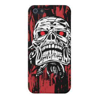 Robot Skull Cover For iPhone SE/5/5s