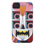robot skull iPhone 4 cover