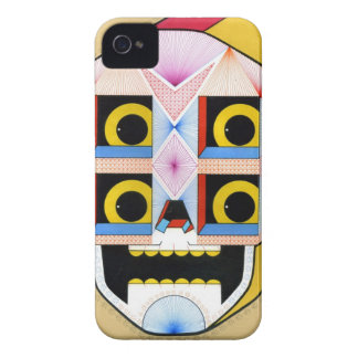 robot skull iPhone 4 covers