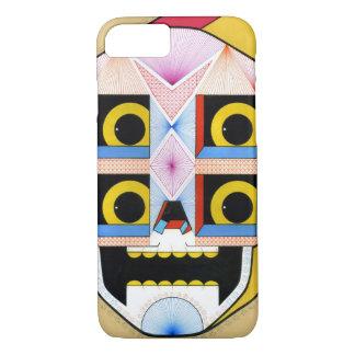 robot skull iPhone 7 case