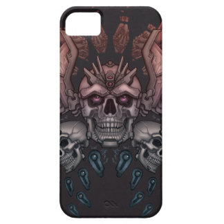 Robot Skull + Wings iPhone 5 Cover