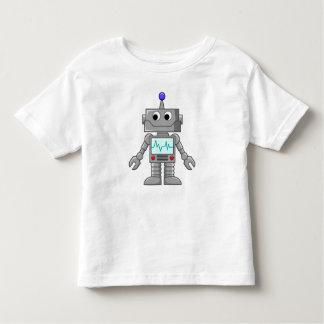 Robot sonriente playera