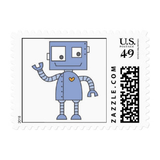 robot stamps