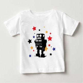 Robot Star Baby T-Shirt