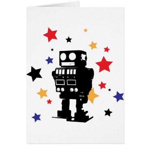 Robot Star Card