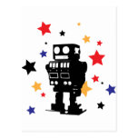 Robot Star Post Cards
