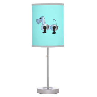 Robot Steampunk Dog Lamp