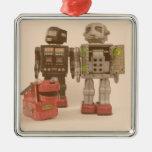 Robot Suburbia Christmas Tree Ornament