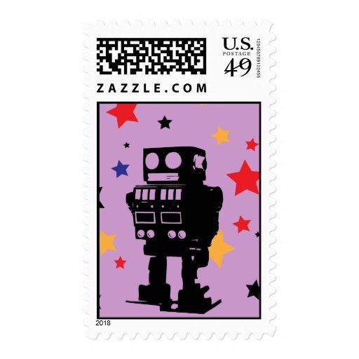 Robot Super Star Stamp