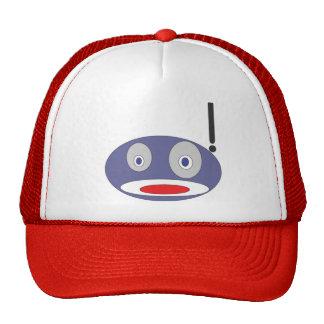 Robot Surprised Trucker Hat