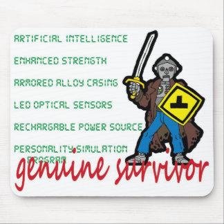 Robot Survivor Mousepad