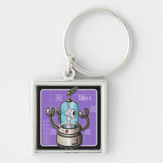 Robot Tanx Keychain