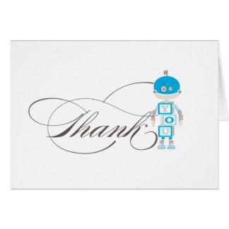 Robot  |  Thank You Card