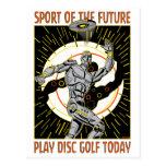 Robot Thrower #1 Post Card