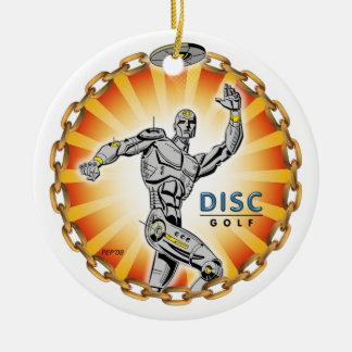 Robot Thrower #2 Ceramic Ornament