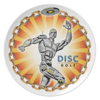 Robot Thrower #2 Dinner Plate
