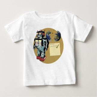 Robot To Do List Baby T-Shirt