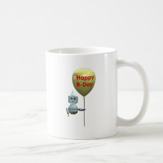 Robot Topbot happy birthday Coffee Mug