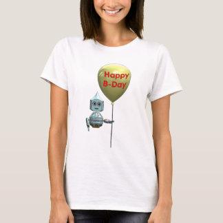 Robot Topbot happy birthday T-Shirt