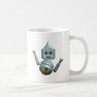 Robot Topbot smile Coffee Mug