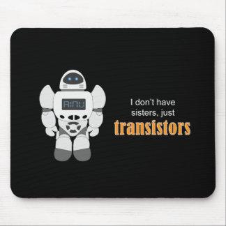 Robot Transistors Mouse Pad