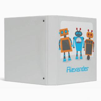 Robot Trio Binder