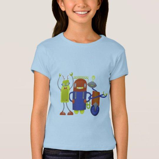 Robot Trio T-Shirt