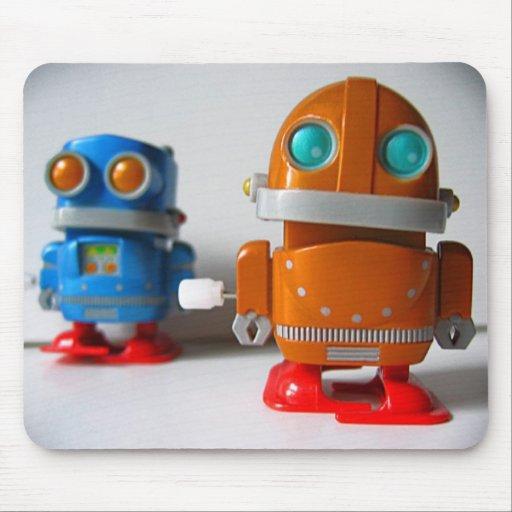 Robot Trouble mousepad